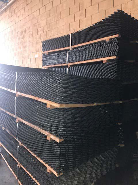 Chapa expandida aço carbono